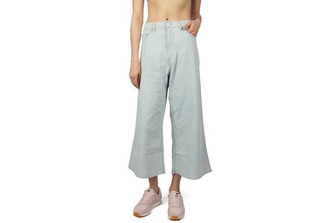 ABSTRACT DENIM TROUSERS WOMENS SOFTGOODS CHEAP MONDAY PALE BLUE S