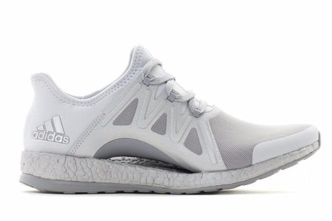 PUREBOOST XPOSE WOMENS FOOTWEAR ADIDAS CLEGRE/FTWWHT/MIDGRE 5