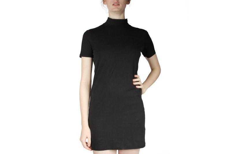 SEEK DRESS WOMENS SOFTGOODS CHEAP MONDAY BLACK XS