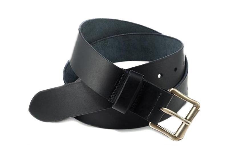 BLACK PIONEER LEATHER BELT BELTS RED WING SHOES