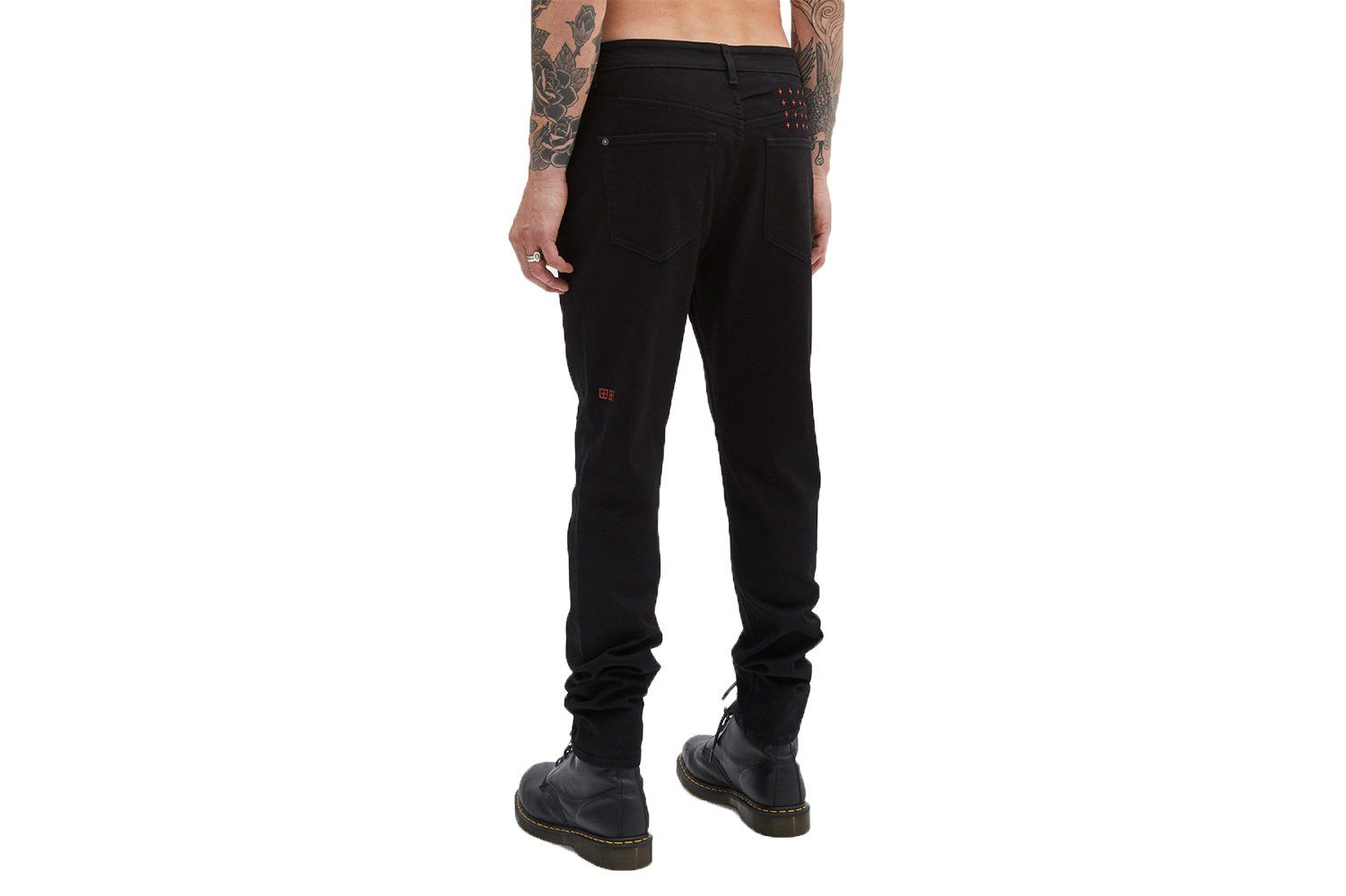 WOLF GANG LAID BLACK-43900 MENS SOFTGOODS KSUBI