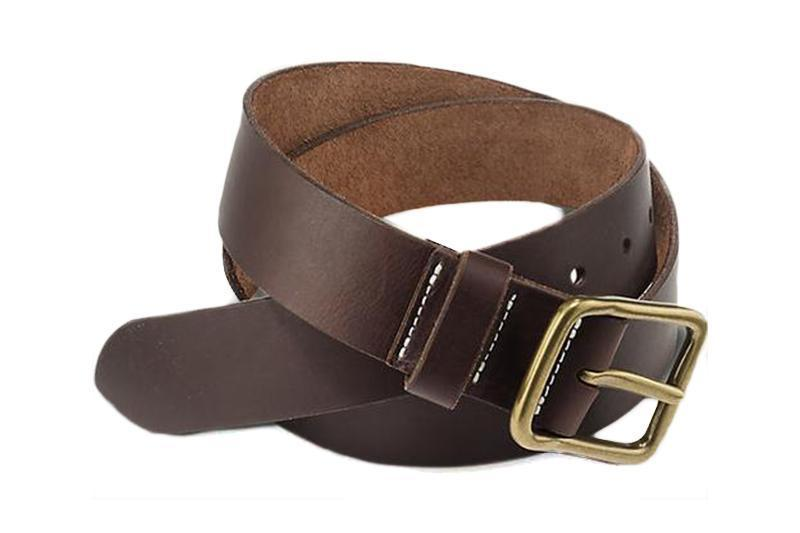 AMBER PIONEER LEATHER BELT BELTS RED WING SHOES