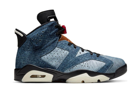 AIR JORDAN 6 RETRO 'WASHED DENIM' - CT5350 401