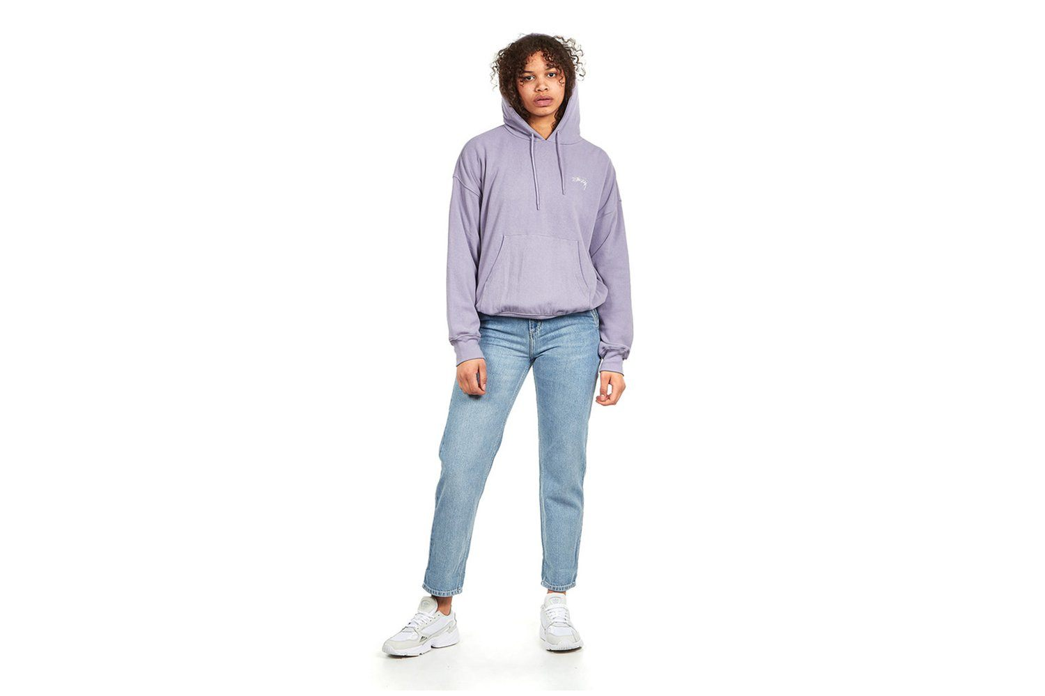 VIOLET FRENCH TERRY HOODIE WOMENS SOFTGOODS STUSSY