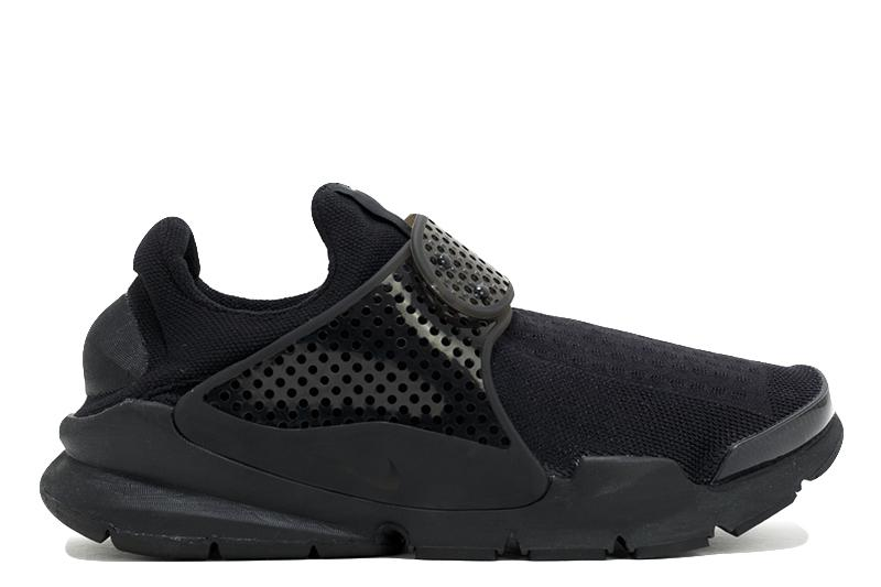 SOCK DART MENS FOOTWEAR NIKE BLACK/BLACK/VOLT 8 819686-001