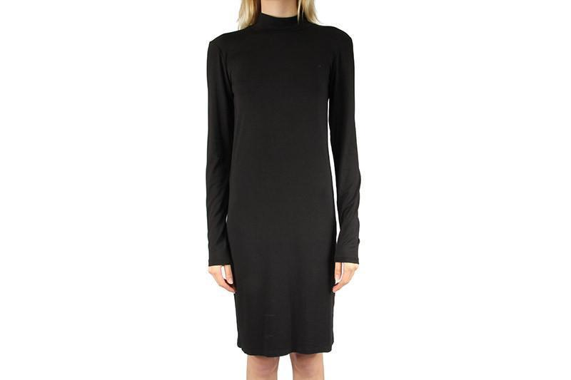 LUCA DRESS WOMENS SOFTGOODS JUST FEMALE BLACK S