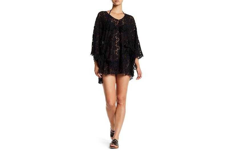 AYRES COVER UP WOMENS SOFTGOODS AMUSE SOCIETY BLACK XS