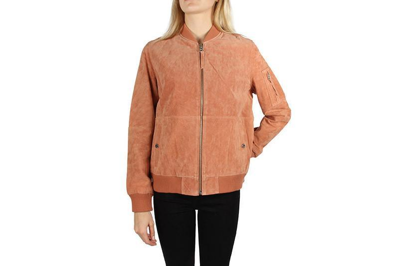 NOMADIC JACKET WOMENS SOFTGOODS OBEY DUSTY CORAL XS