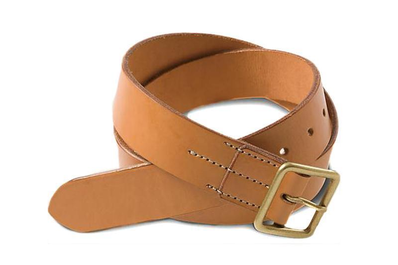 NATURAL TAN ENGLISH BRIDLE BELTS RED WING SHOES tan 30