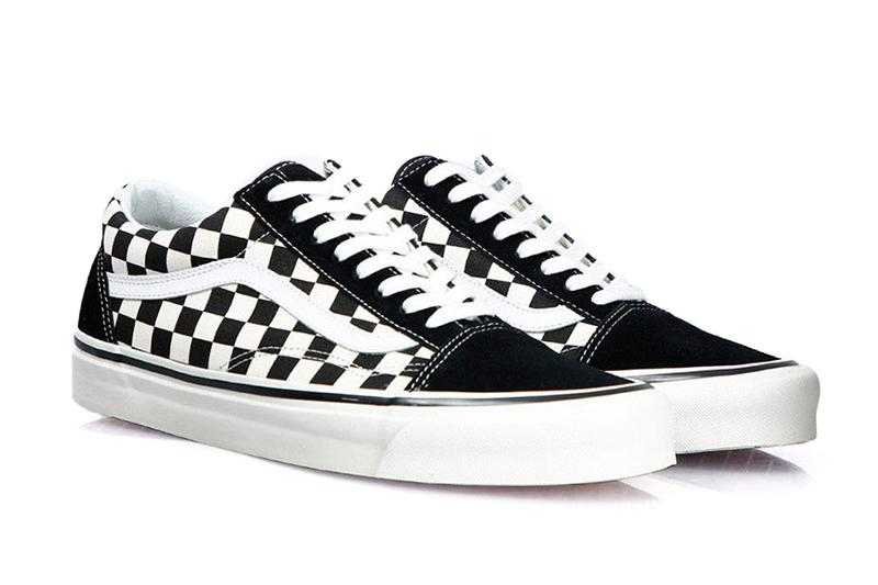 PRIMARY CHECK OLD SKOOL MENS FOOTWEAR VANS