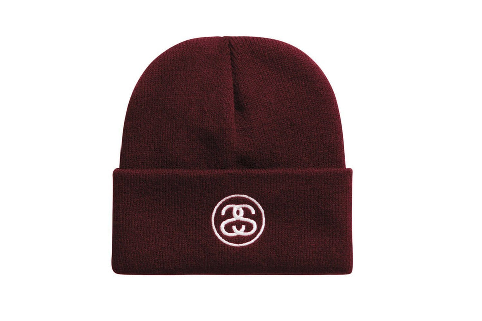 STUSSY HO18 SS-LINK CUFF BEANIE - 132902 HATS STUSSY