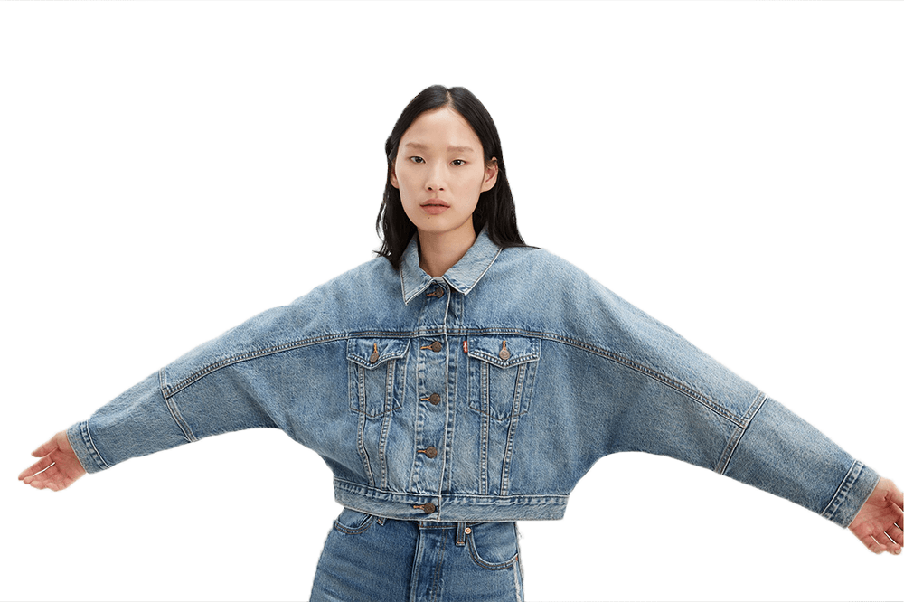 FUTURE VINTAGE TRUCKER WOMENS SOFTGOODS LEVIS