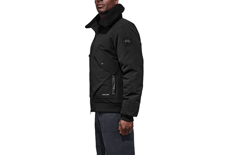 MEN'S BROMLEY BOMBER-BLACK LABEL 61-7996MB