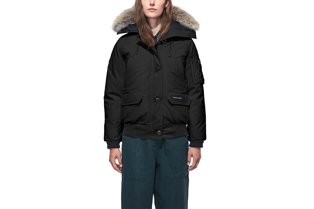 LADIES CHILLIWACK BOMBER RF 61-7999L WOMENS SOFTGOODS CANADA GOOSE