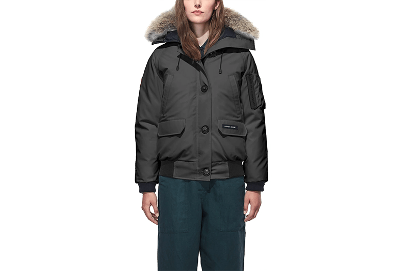 LADIES CHILLIWACK BOMBER RF - 66 7999L WOMENS SOFTGOODS CANADA GOOSE