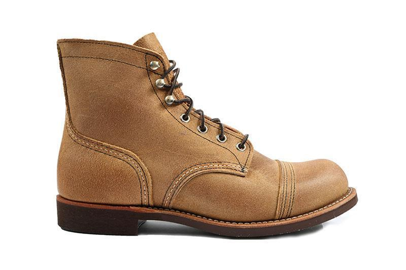 IRON RANGER 08083-0 MENS FOOTWEAR RED WING SHOES HAWTHORNE 9