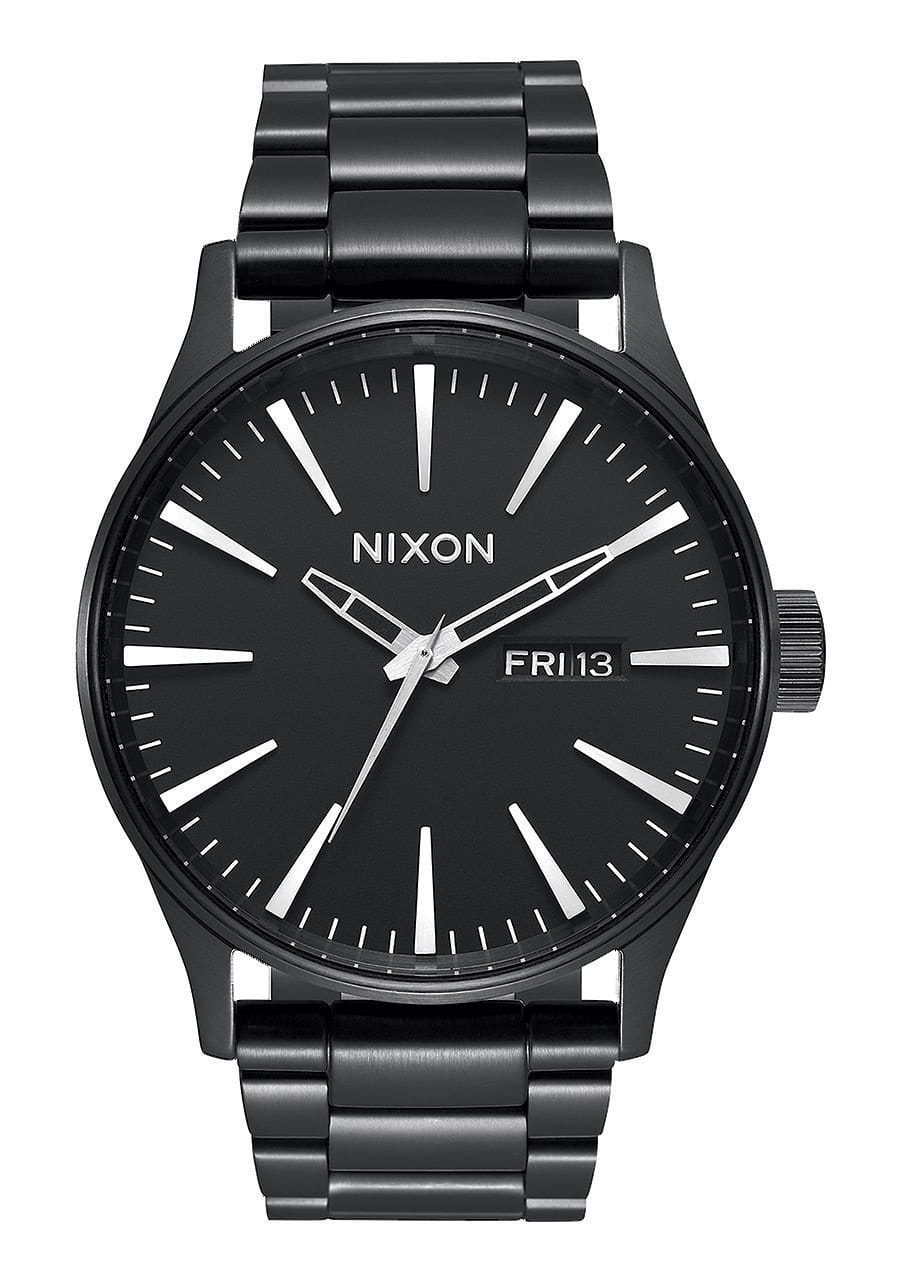 SENTRY SS/ALL BLACK WATCHES NIXON ALL BLACK ONE SIZE