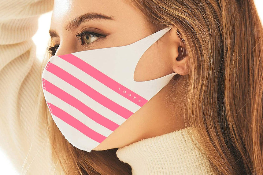 WASHABLE MASK-M-B10 ACCESSORIES LOOKA