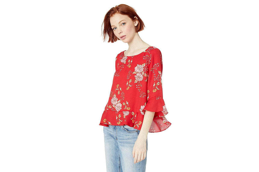 BLOOM WITH A VIEW - BJ104235 WOMENS SOFTGOODS BB DAKOTA SCOOTER RED L