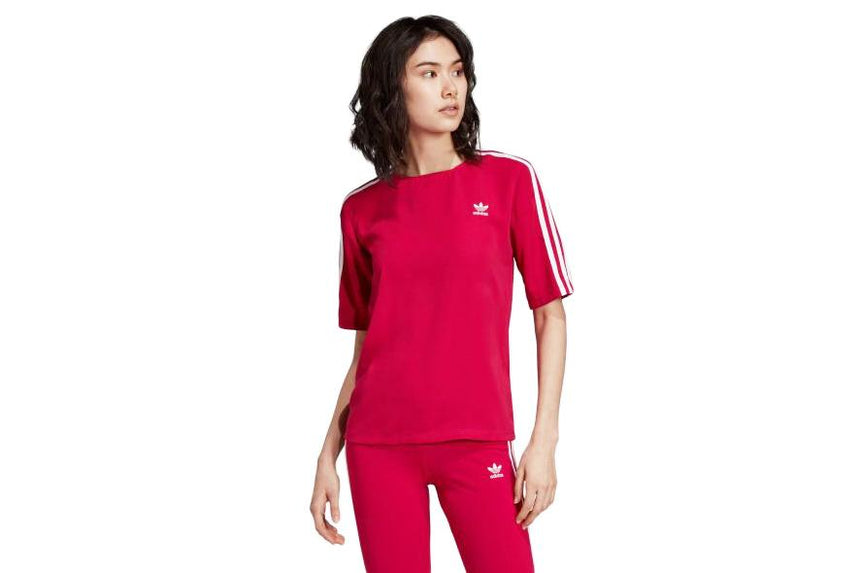 3 STRIPES TEE - DV0853 WOMENS SOFTGOODS ADIDAS