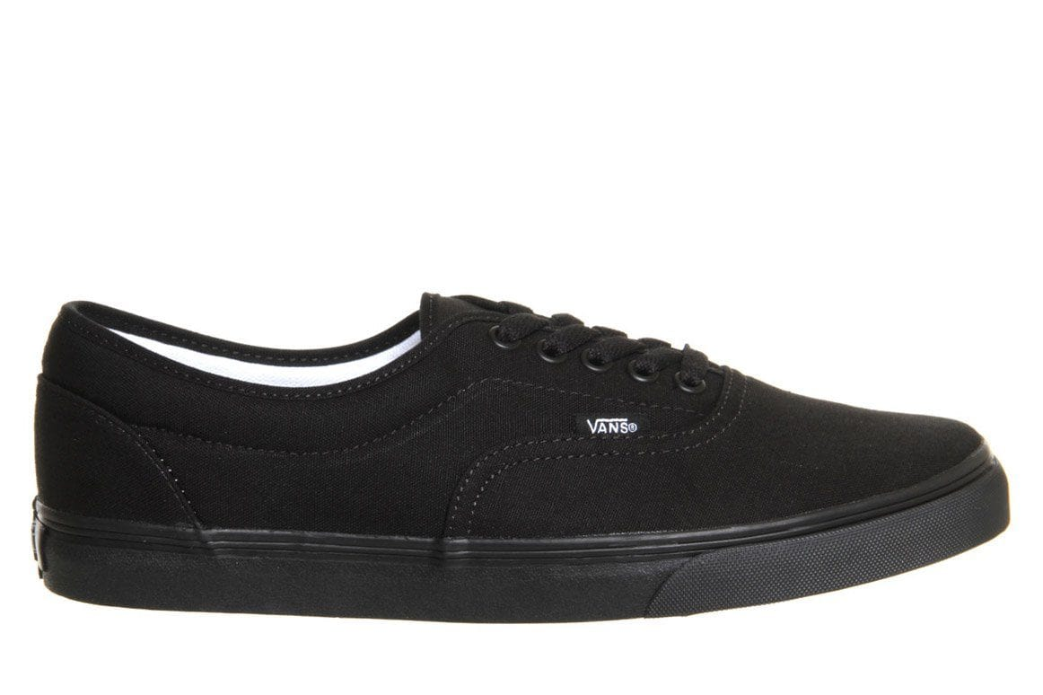 W LPE WOMENS FOOTWEAR VANS BLACK/ BLACK 5.5