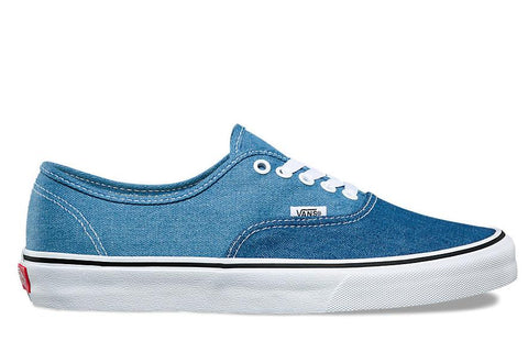 AUTHENTIC (DENIM 2-TONE) - VN0A38EMQ69 MENS FOOTWEAR VANS DENIM 2-TONE (BLUE/ TRUE WHITE) 8 VN0A38EMQ69
