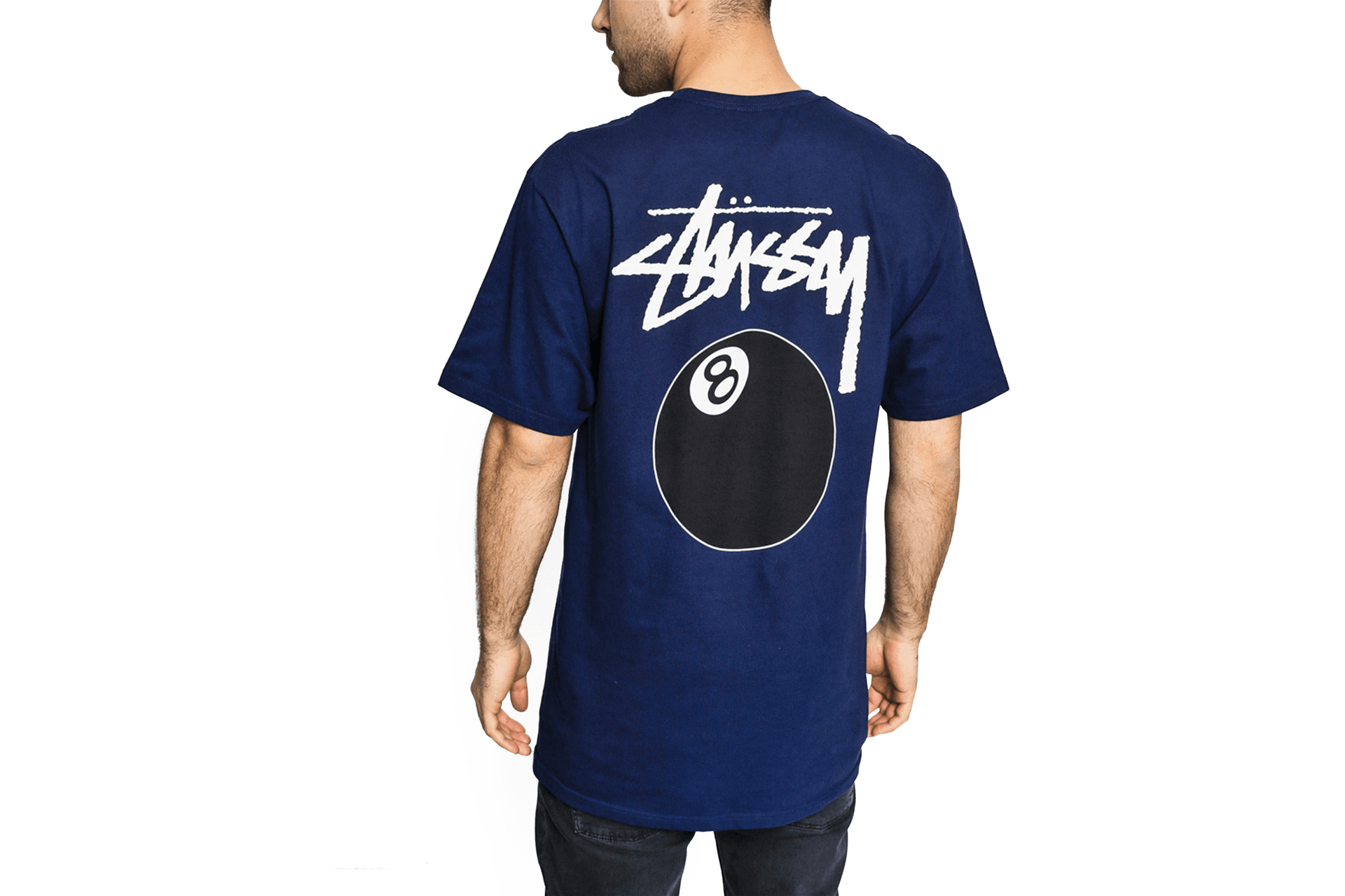 8 BALL TEE - 1904462 MENS SOFTGOODS STUSSY