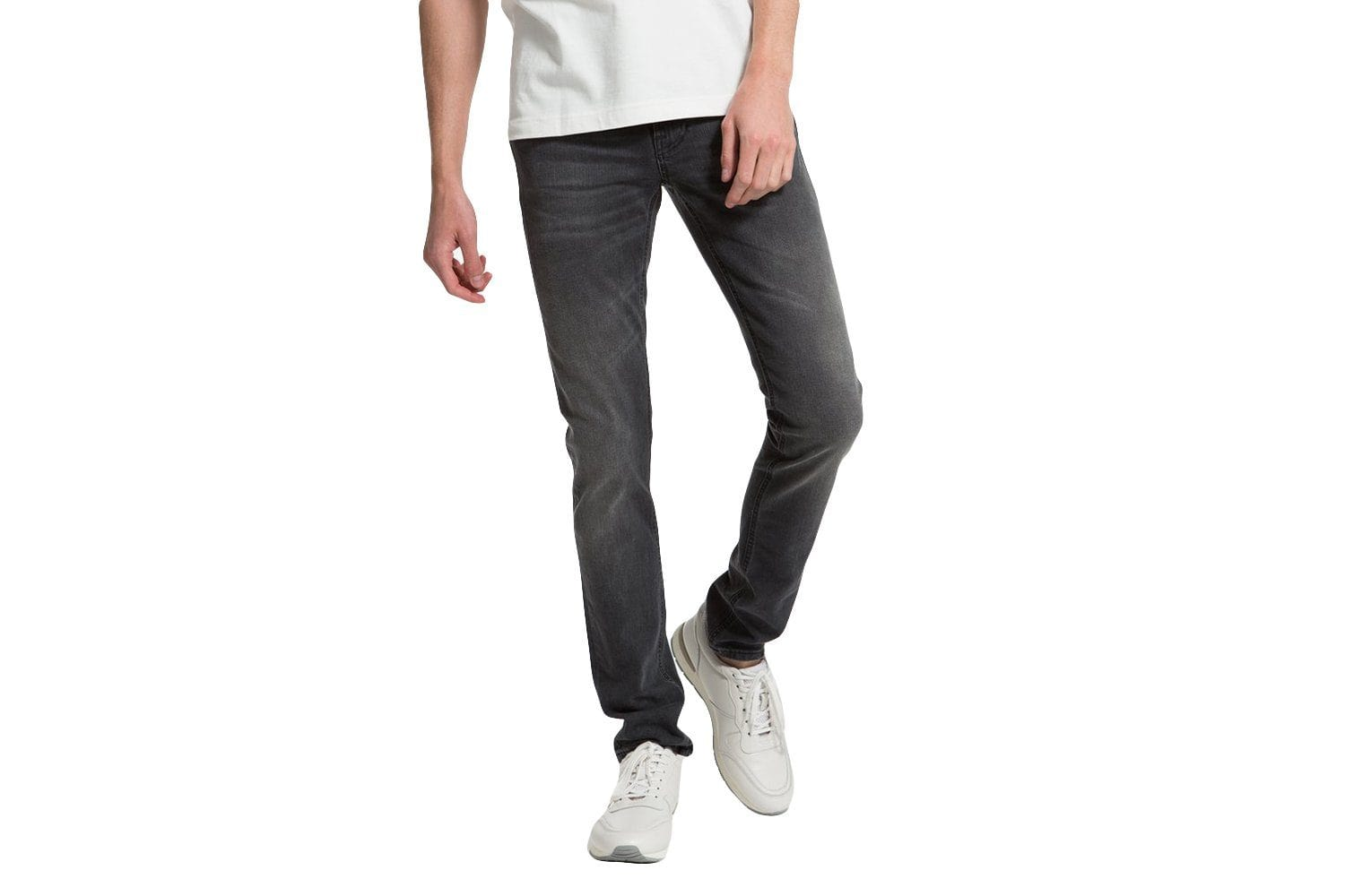 LEAN DEAN MONO GREY-112778 MENS SOFTGOODS NUDIE JEANS MONO GREY 30/32