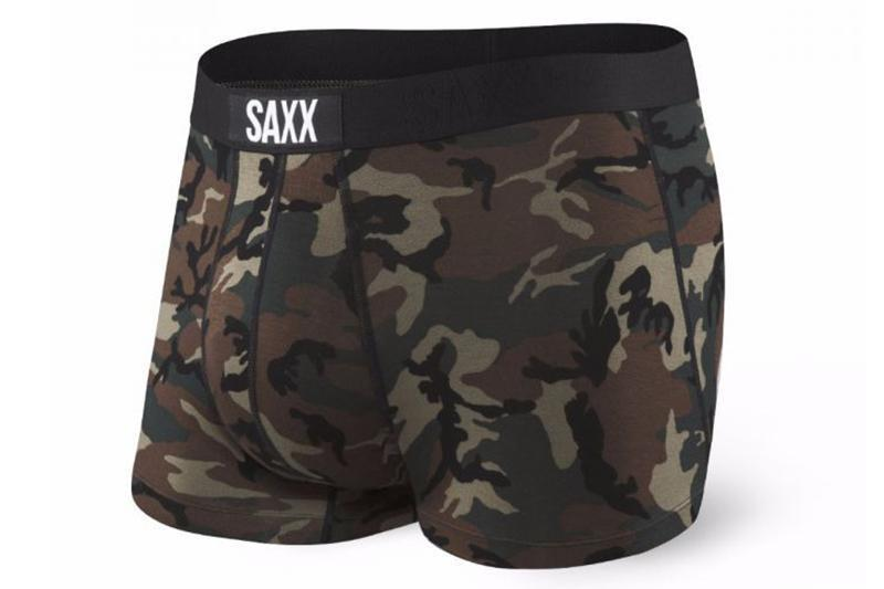 VIBE BOXER MODERN FIT WDL ACCESSORIES SAXX WOODLAND CAMO XL