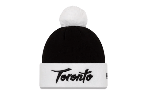 CS19 TORONTO RAPTORS NBA AUTHENTICS CITY SERIES HOLIDAY PACK POM KNIT - 12286493 HATS NEW ERA