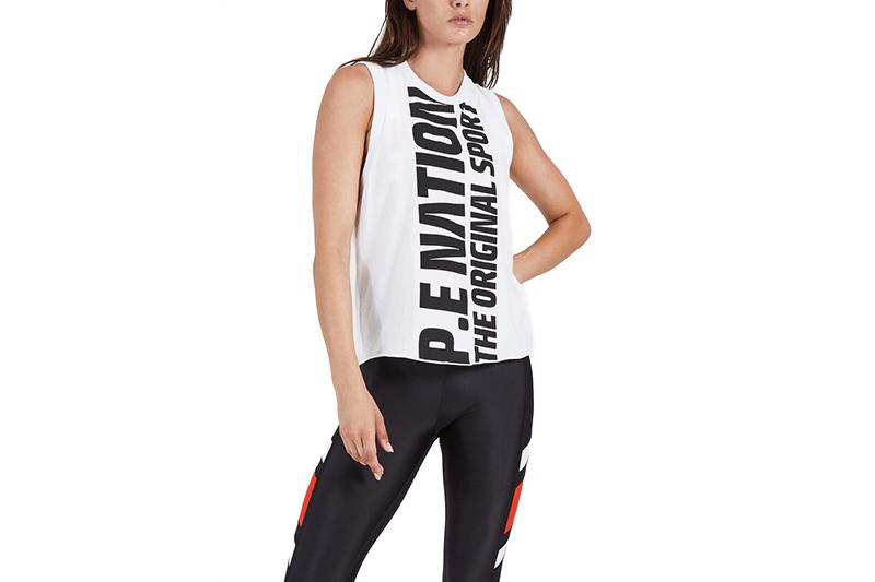 AMPED UP TANK - 19PE1W128 WOMENS SOFTGOODS P.E NATION
