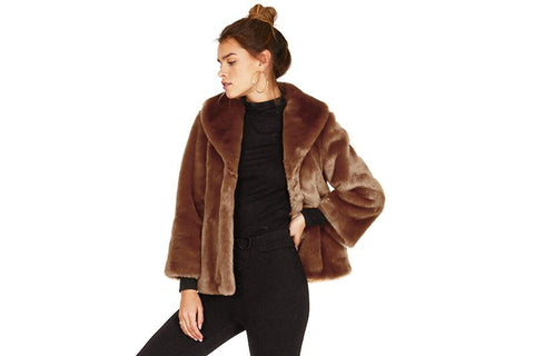 FUR EVER MINE JACKET - A702IFUR