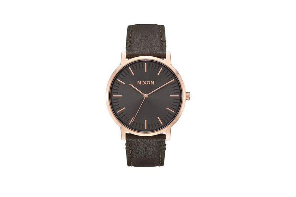 PORTER LEATHER WATCHES NIXON