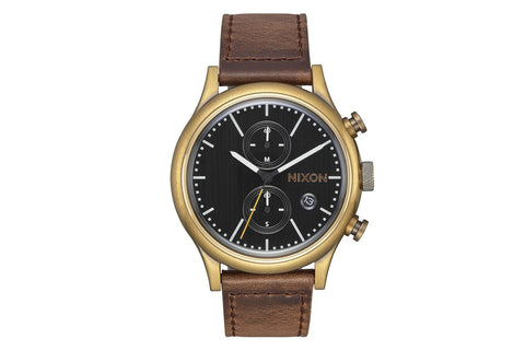 STATION CHRONO LEATHER