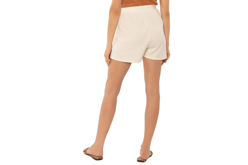 DELILAH KNIT SHORT-A201MDEL WOMENS SOFTGOODS AMUSE SOCIETY