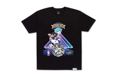 SPACE JAM KNICKS TEE-A20DMPA203 MENS SOFTGOODS DIAMOND SUPPLY CO.