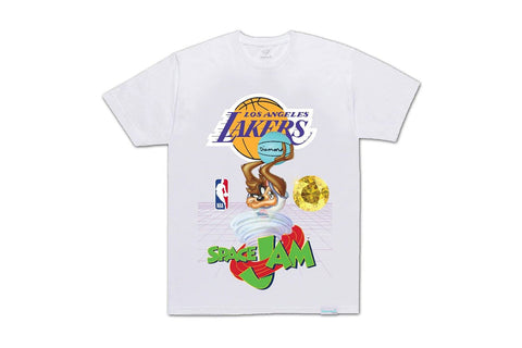 SPACE JAM LAKERS TEE-A20DMPA205