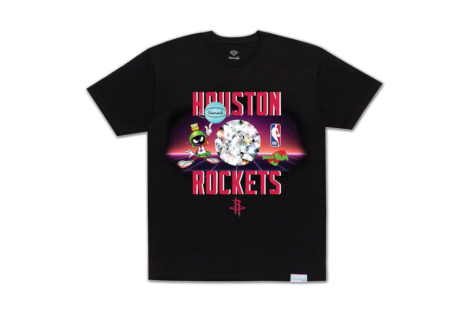 SPACE JAM ROCKETS TEE-A20DMPA206 MENS SOFTGOODS DIAMOND SUPPLY CO.