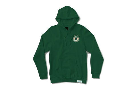 SPACE JAM MILWAUKEE BUCKS HOODIE - A20DMPF209 MENS SOFTGOODS DIAMOND SUPPLY CO.