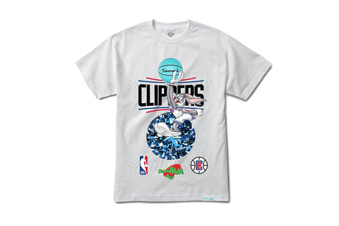 SPACE JAM CLIPPERS TEE - A20DMPA210 MENS SOFTGOODS DIAMOND SUPPLY CO.