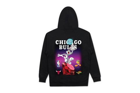 SPACE JAM CHICAGO BULLS HOODIE-A20DMPF201 MENS SOFTGOODS DIAMOND SUPPLY CO.