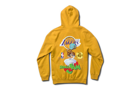 SPACE JAM LAKERS HOODIE-A20DMPF205 MENS SOFTGOODS DIAMOND SUPPLY CO.