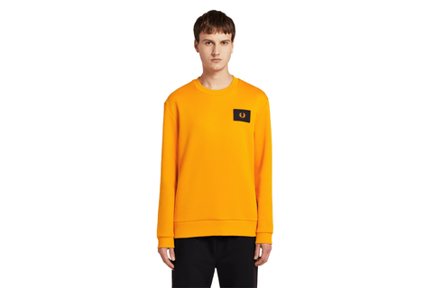 ACID BRIGHTS SWEATSHIRT - M7577 MENS SOFTGOODS FRED PERRY