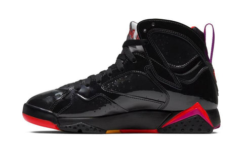 AIR JORDAN 7 RETRO 'BLACK GLOSS' - 313358 006