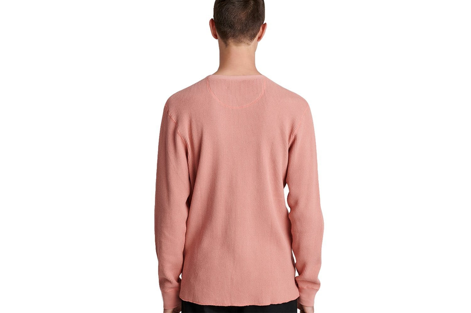 ALEK WAFFLE L/S TEE - A41911AK02 MENS SOFTGOODS SATURDAYS NYC