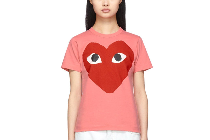 WOMEN'S PASTELLE T-SHIRT - AZT273 WOMENS SOFTGOODS COMME DES GARCONS