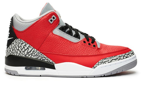 "AIR JORDAN 3 RETRO SE ""RED CEMENT"" - CK5692-600 MENS FOOTWEAR JORDAN"