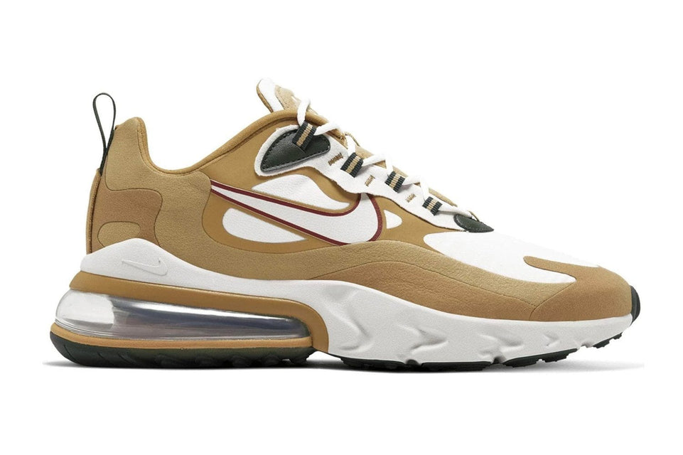 AIR MAX 270 REACT 'REGGAE' - AO4971-700 MENS FOOTWEAR NIKE