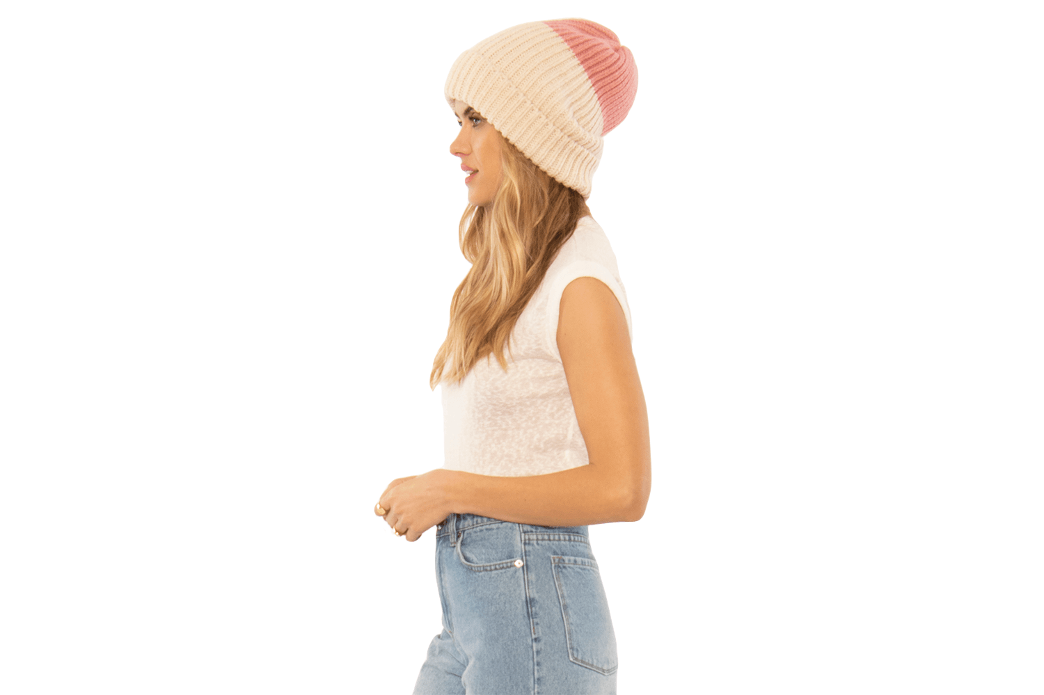 BLOCK PARTY KNIT BEANIE-AA08MBLO WOMENS SOFTGOODS AMUSE SOCIETY