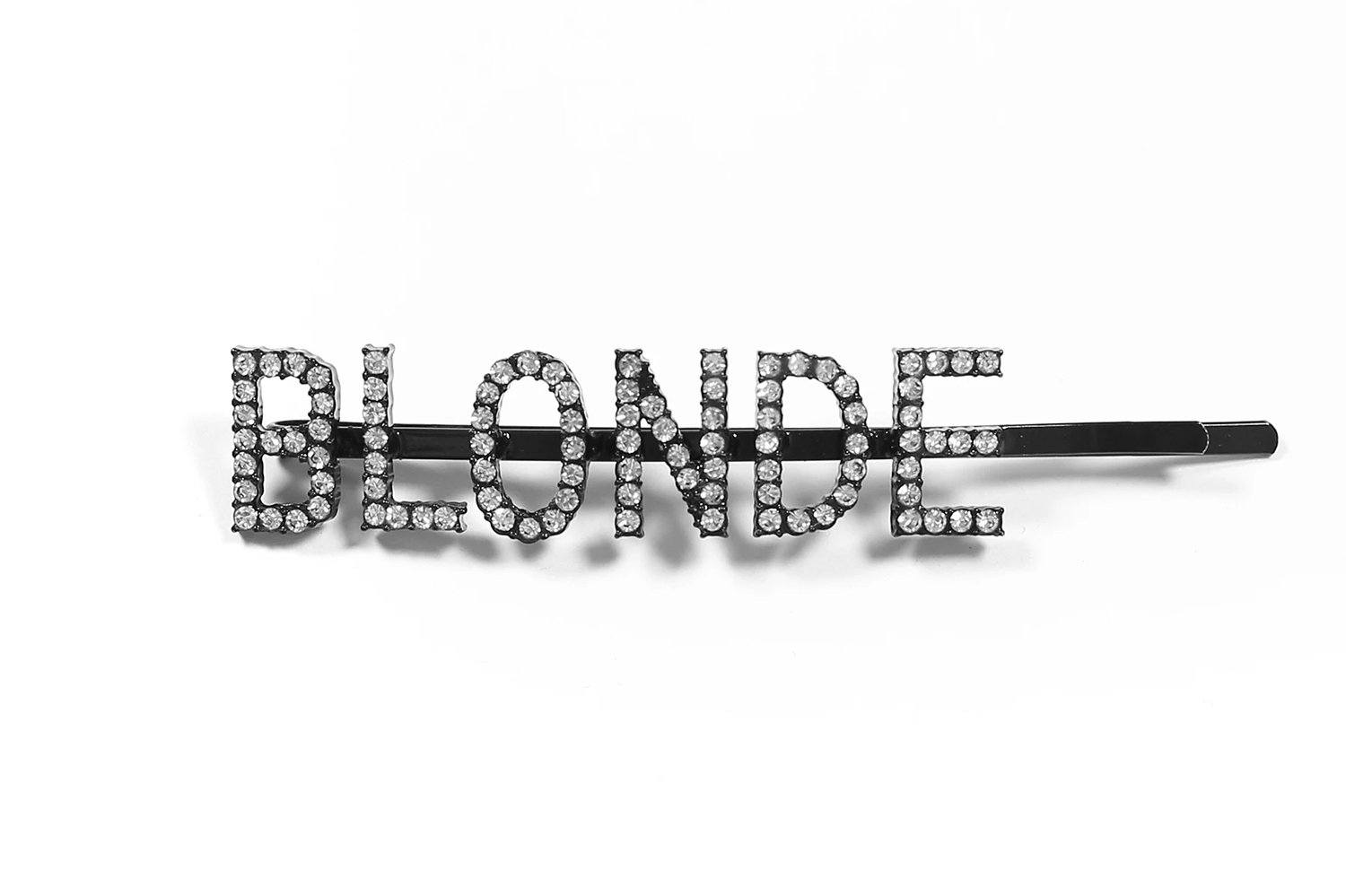 BLONDE HAIR CLIP-BTLC130 WOMENS ACCESSORIES BRUNETTE